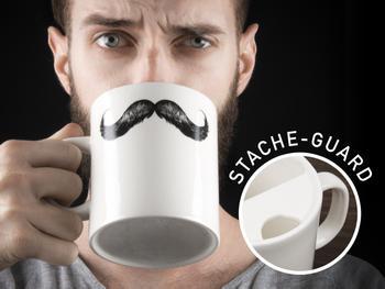 Schnurrbart-Becher