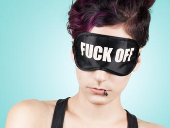 F*ck Off-Schlafmaske