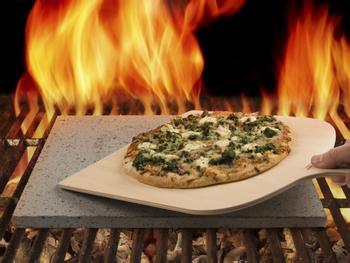 Pizzastein aus Lava vom Ätna