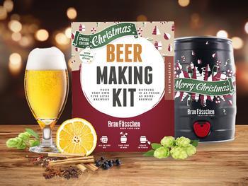 Brewbarrel Brauerei-Set Weihnachtsbier