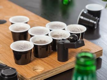 Spralla Mini Beer Pong Plastikbecher 20-pack