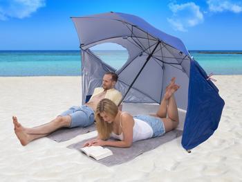 Sonnenschirm mit UV-Schutz Utenu