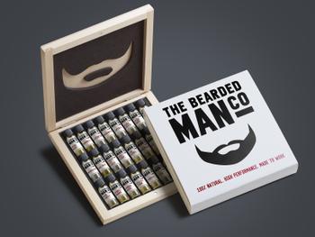 Geschenkverpackung Bartöle – 24 Duftrichtungen