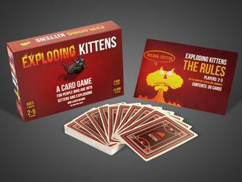 Kartenspiel Exploding Kittens