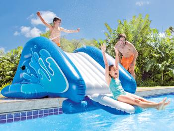 Intex Kool Splash Aufblasbare Wasserrutsche