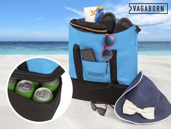 Vagaborn Strandtasche mit Kühlfach