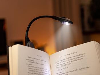 Spralla LED Leselampe mit Klemme