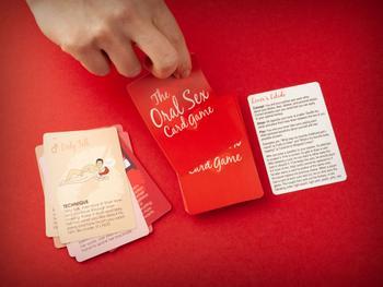 The Oral Sex Kartenspiel