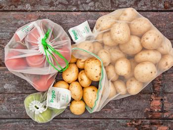 Carrinet Veggio Obst- und Gemüsebeutel 5er-Pack