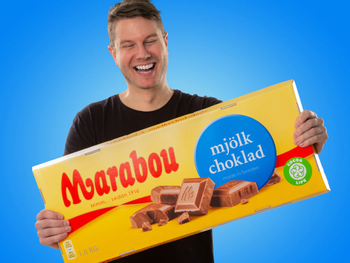 Gigantische Marabou-Schokolade
