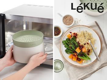 Lékué Quinoa- & Reiskocher für die Mikrowelle