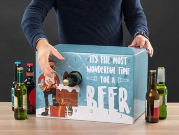Bier Adventskalender zum Befüllen