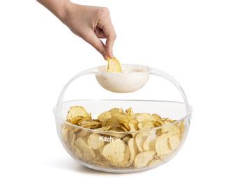 KitchPro Chips- und Dipschale