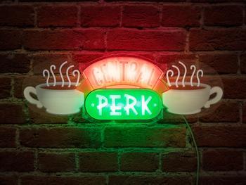 Central Perk LED-Lampe