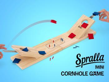 Spralla® Mini Cornhole Game