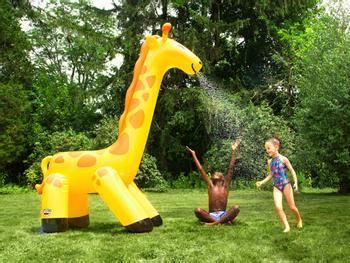Wassersprinkler Aufblasbare Giraffe