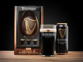 Guinness Schokoladenei