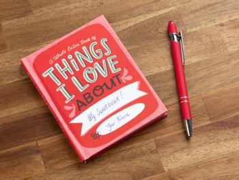 Things I Love About You-Ausfüllbuch