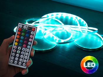 Vooni LED-Lichtleiste mit Fernbedienung