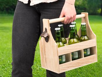 Getränkekiste aus Holz