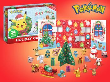 Pokémon Adventskalender 2020