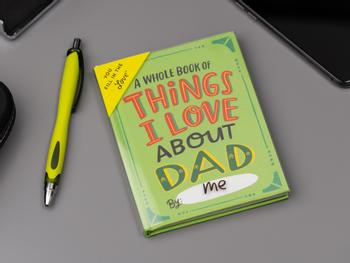 Things I Love About Dad Ausfüllbuch