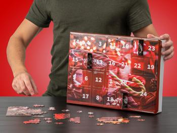 Puzzle Adventskalender (1000 Teile)