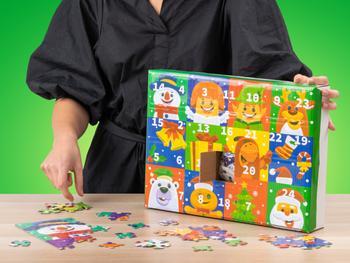 Puzzle Adventskalender Kinder (300 Teile)