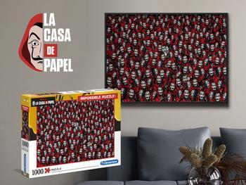 La Casa De Papel (Haus des Geldes) 1000 T. Puzzle