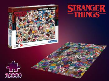 Stranger Things Unmögliches Puzzle 1000 Teile