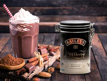 Baileys heiße Schokolade Kakaopulver