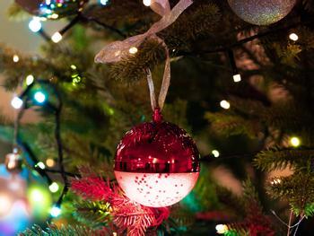 Spralla LED-Christbaumkugel Mit Lautsprecher