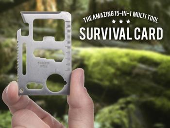 Outlust Survival Card - Multiwerkzeug