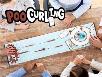 Poo Tischcurling