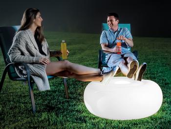Intex Aufblasbarer LED-Sitzsack