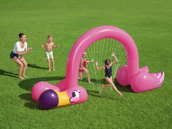 Bestway Wassersprinkler Jumbo Flamingo