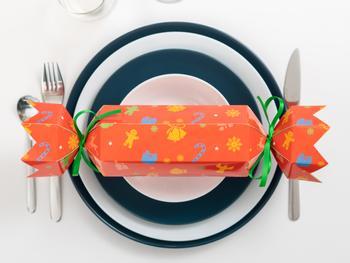 DIY Christmas Crackers 4er-Pack