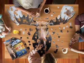I Am Moose Elch Puzzle 700 Teile