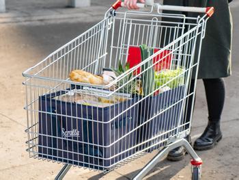 Spralla Shopper für Einkaufswagen 3er-Pack