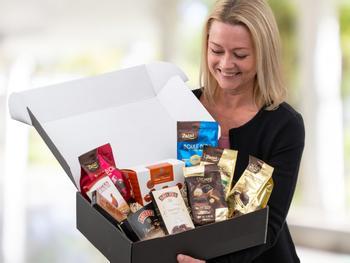 Schokolade Geschenkbox