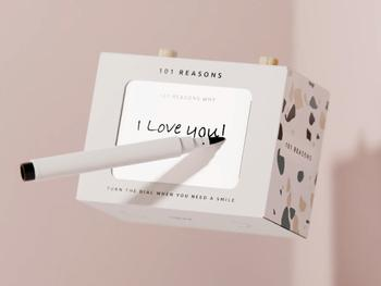 101 Reasons Botschaften-Box