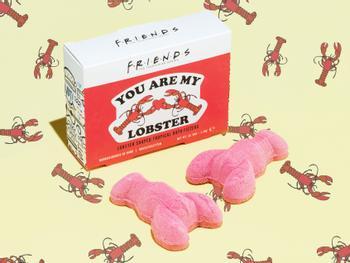 Friends You Are My Lobster Badekugeln 2er-Pack
