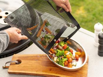 KitchPro® Antihaft-Grillbeutel 2-er Pack