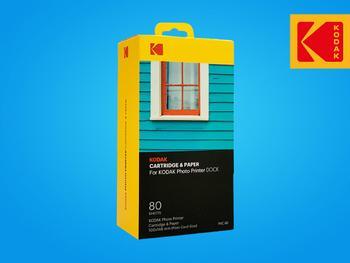 Kodak Printer Dock Foto- und Farbkassette 80er-Pac