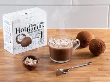 Heiße Schokolade mit Mini-Marshmallows 4er-Pack