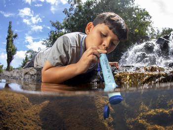 LifeStraw Wasserreinigender Trinkhalm
