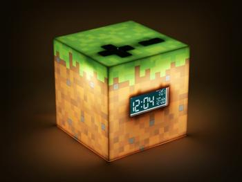 Minecraft Digitaler Wecker