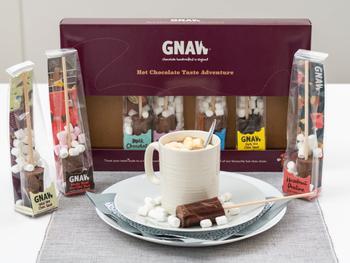 GNAW Heiße Schokolade am Stiel 8er-Pack