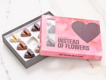 Simply Chocolate Pralinen – Instead of Flowers