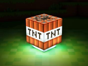 Minecraft TNT Lampe